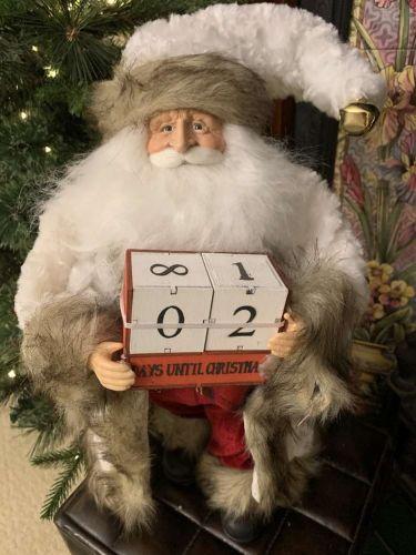 Santa With Calander